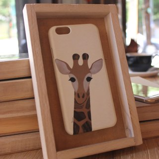 Korea style top anti-wear paint painted phone protective shell [Spa smaller objects / Hi ~ I'm unicorn deer!] Korea Design Hall Customizable Model iPhone: i6s / i6s plus + / i6 / i6 plus / i5 / Samsung Samsung: S6 Edge + plus / S6 / S6 Edge / S5 /