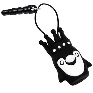 Sigema X Puff Nation Ear Cap dust plug headphones plug penguin