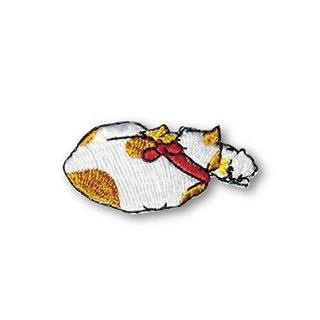 [Jingdong all KYO-TO-TO] cat feeding good fifty-three Cloth シ an have DANGER _ Cat (Hiratsuka) Embroidery