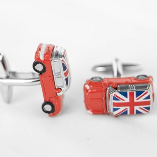 Mini Cufflinks - Red Mini Cooper Cuffink