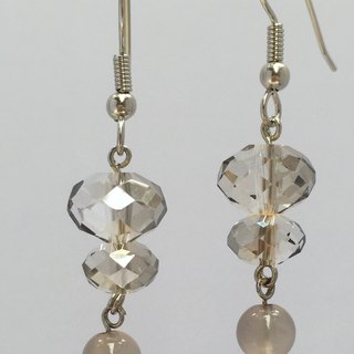 E0327 - First Choice Gift of Fashion - Homemade - Natural Gems - Citrine Earrings