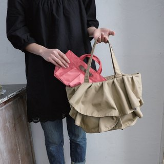 [DUAL STYLE] Japan hit color skirt Tote bag