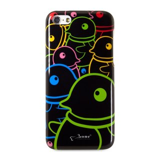 iPhone 5C painted back cover protective shell -Maru penguin