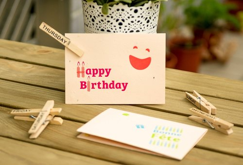 Happy Birthday! Seed Card