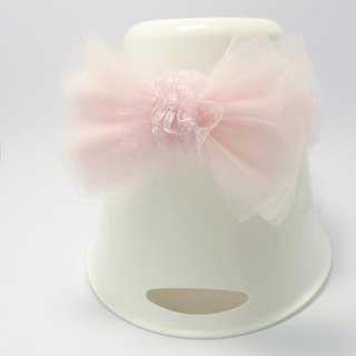 Salsa pink bow baby headband (only one)
