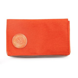 GOLLA Northern Europe and Finland minimalist fashion wallet / admission package Original WALLET AMBER-G1687 Orange