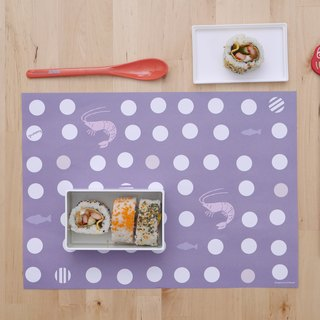 Yummy Yang and food light paper placemat 10 sheets (adding no increase)