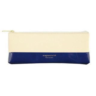 Japan [LABCLIP] Prendre Pen Series Pencil Case (Zip) Dark Blue