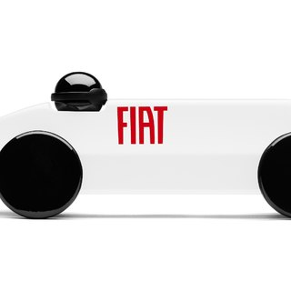 PLAYSAM-Mefistofele Racing FIAT (white)