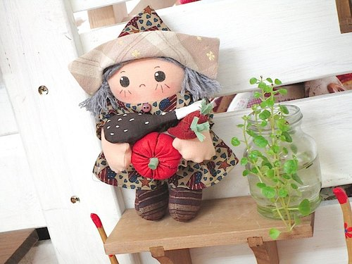 wonderland22 doll | November harvest Xiaowa