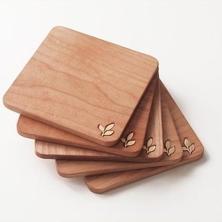 COASTER -cherry wood-