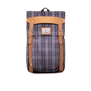 RITE | Brat Pack - Coffee Plaid | after the original removable backpack