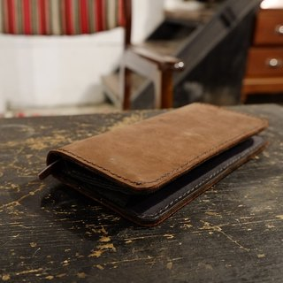 Pioneer - Crazy Horse Leather Long Wallet