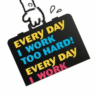 Fun Digital Cards - Work Hard work