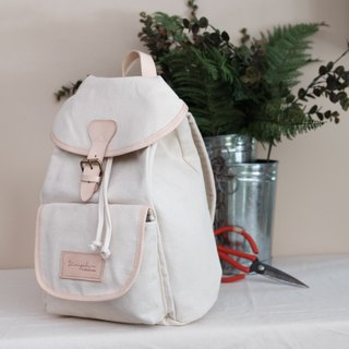 SCHOOL BAG - white
