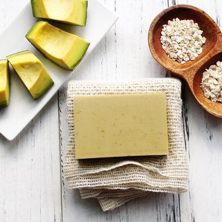 [蕾安柏] Avocado Sweet Apricot Oatmeal Soap │ No Scent │ Infant │ Sensitive Muscle