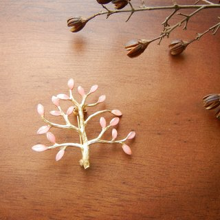 *coucoubird*Cherry tree pin / gold