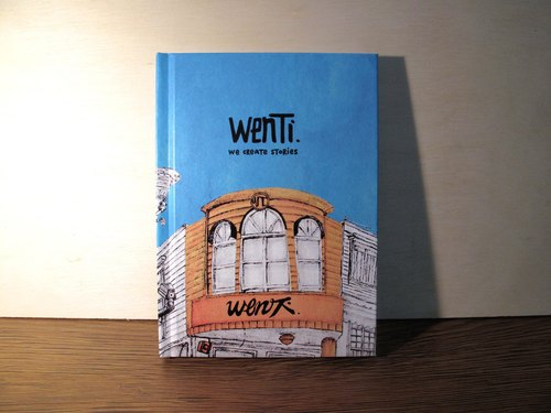 WenTi - [DIARY DESIGN] - hardcover diary small pen -