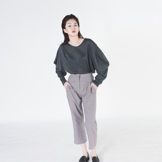 Lyca Structured Sleeves Knit Top