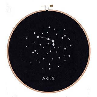 Embroidery hoop: ARIES (wooden embroidery frame embroidery hoop Aries).