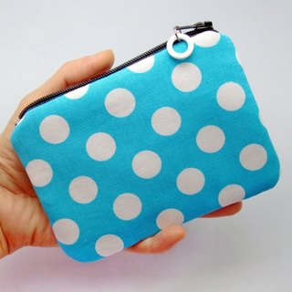 Zipper pouch / coin purse (padded) (ZS-42)