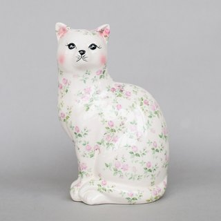 OOPSY Life - flower tattoo cat piggy banks - RJB