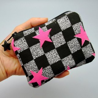 Zipper pouch / coin purse (padded) (ZS-48)