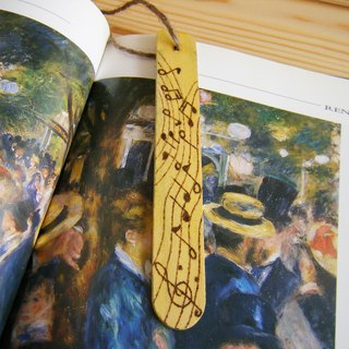 Word ink pause Bookmarks - Music