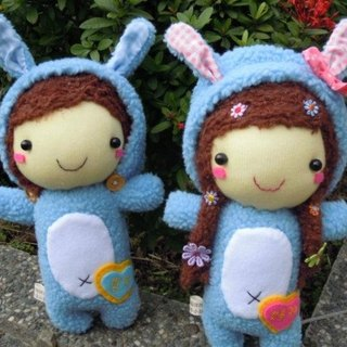 ~ Happy bleating. Handmade Shop - cute animal doll dress / one pair