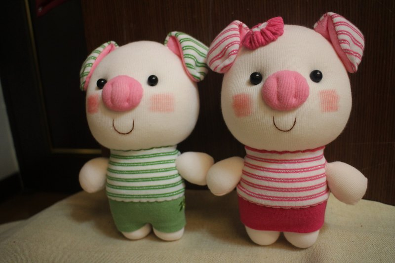 Piggy Titi & Bang Bang / Customized / Martin Handmade