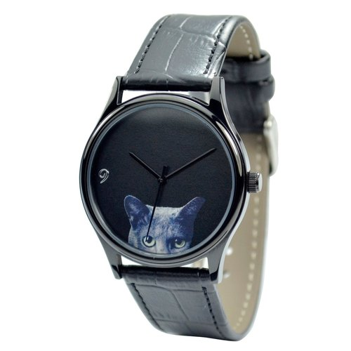 Black Cat Watch - Unisex - Free shipping