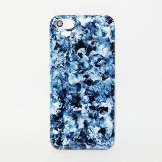 Garden series ll Midnight Blue ll hand-painted oil painting phone case
