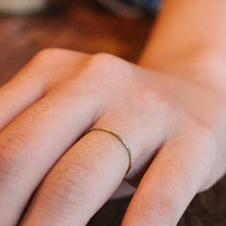Silver ring 0341 simple
