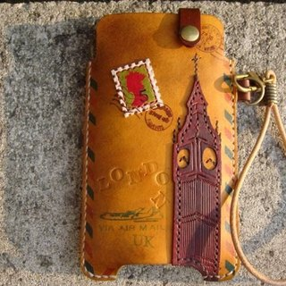 ISSIS - I Love LONDON - Urban Handmade Mobile Phone Case