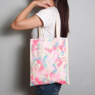 [Lucky Bag] hand-painted hand-printed cloth bag [Fantasy] single-sided shoulder