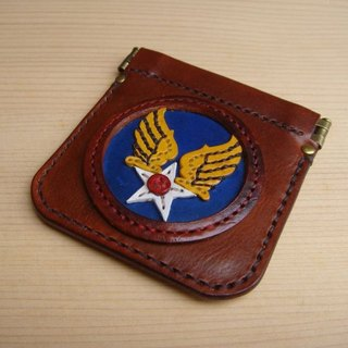 ISSIS - US AIR FORCE Handmade Leather Coin Purse
