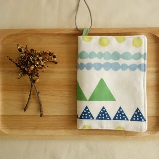 Kyoto fabric Passport Holder - mountaineering (color)