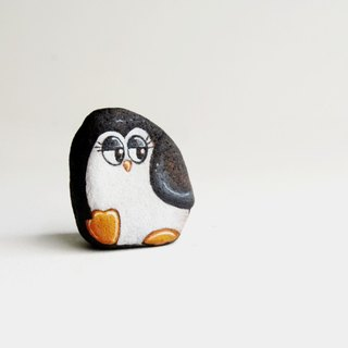 Penguin (Stone painting)
