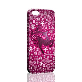 Loving winter snow deer purple pattern custom Samsung S5 S6 S7 note4 note5 iPhone 5 5s 6 6s 6 plus 7 7 plus ASUS HTC m9 Sony LG g4 g5 v10 phone shell mobile phone sets phone shell phonecase