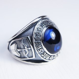 Period ring, graduation ring, champion ring, company commemorative ring (complex version) ~ ~ element 47 metal craft