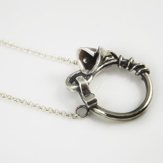 Forever happiness series - necklace (pure handmade 999 sterling silver products)
