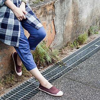Casual shoes-ANN-d deep purple