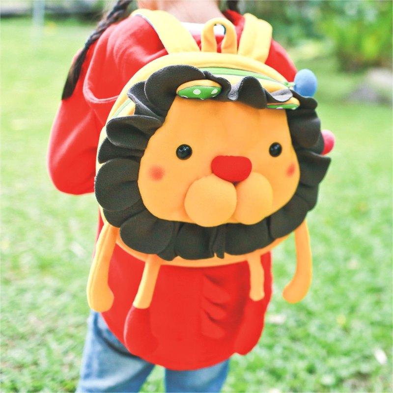 《Balloon》小孩後背包-花瓣獅