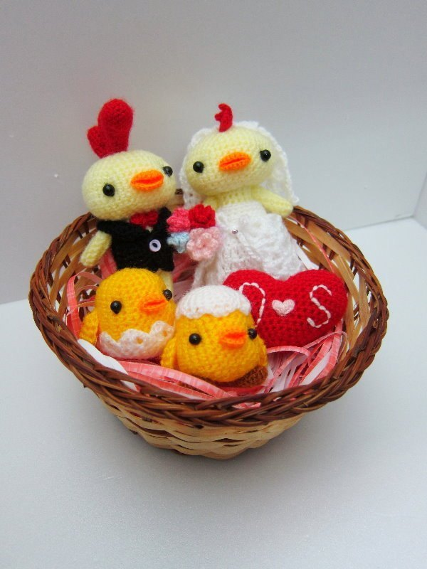 Special order for you to accompany your happiness into Ji ~ super cute the way chicken