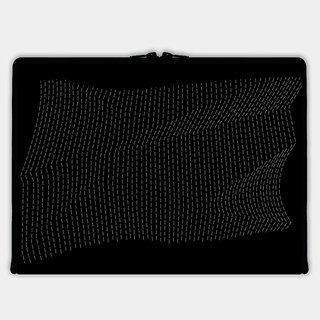Axis - Custom 3-Sided Zipper Laptop Sleeve - DEFORMATION