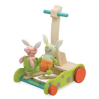 """WonderWorld"" bunny jumping walker (original price 2280 yuan)"