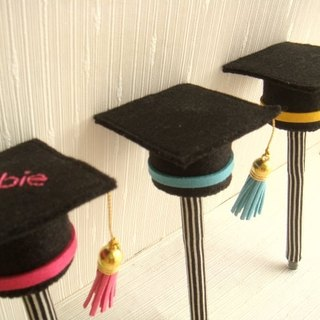 Graduation bachelor hat styling pen exclusive blessing gift combination │ abbiesee gift shop