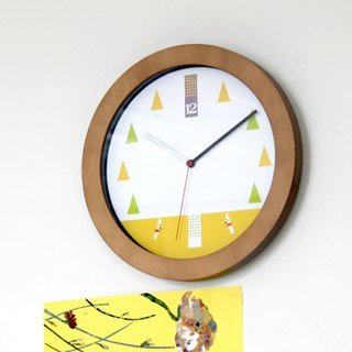 """Where is duck"" Wall Clock"