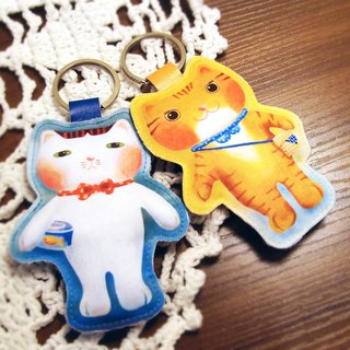 [Cattitude Cat] key pendant key ring Keychain Key Ring 2, paragraph