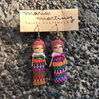 WORRY DOLL HANDMADE EARRINGS (MUÑECA QUITA PENAS)